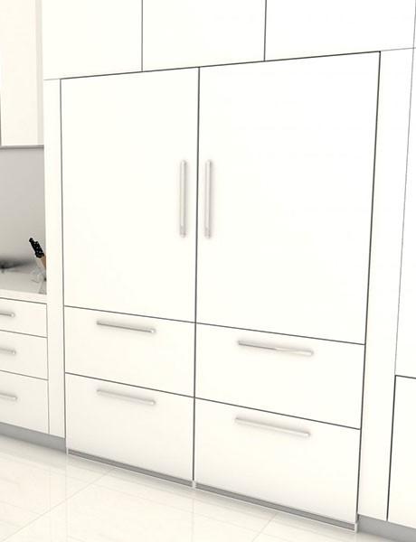 Refrigerador de Embutir Para Revestir SBS 30H1