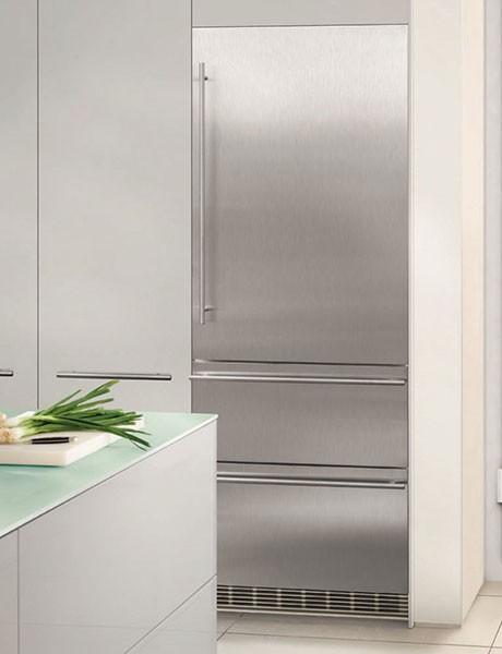Refrigerador de Embutir Para Revestir em Inox HCBS 1560