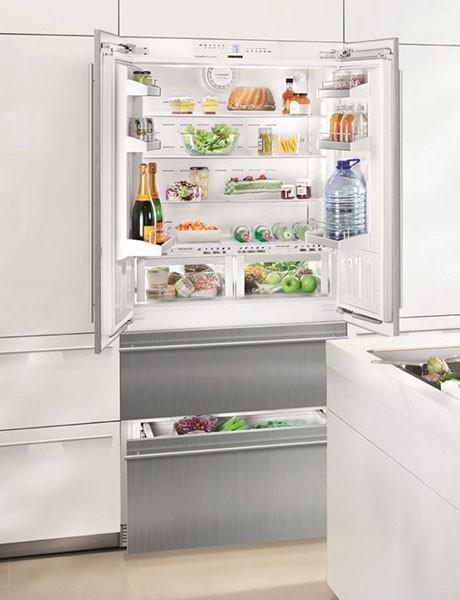 Refrigerador de Embutir Para Revestir em Inox HCBS 2062