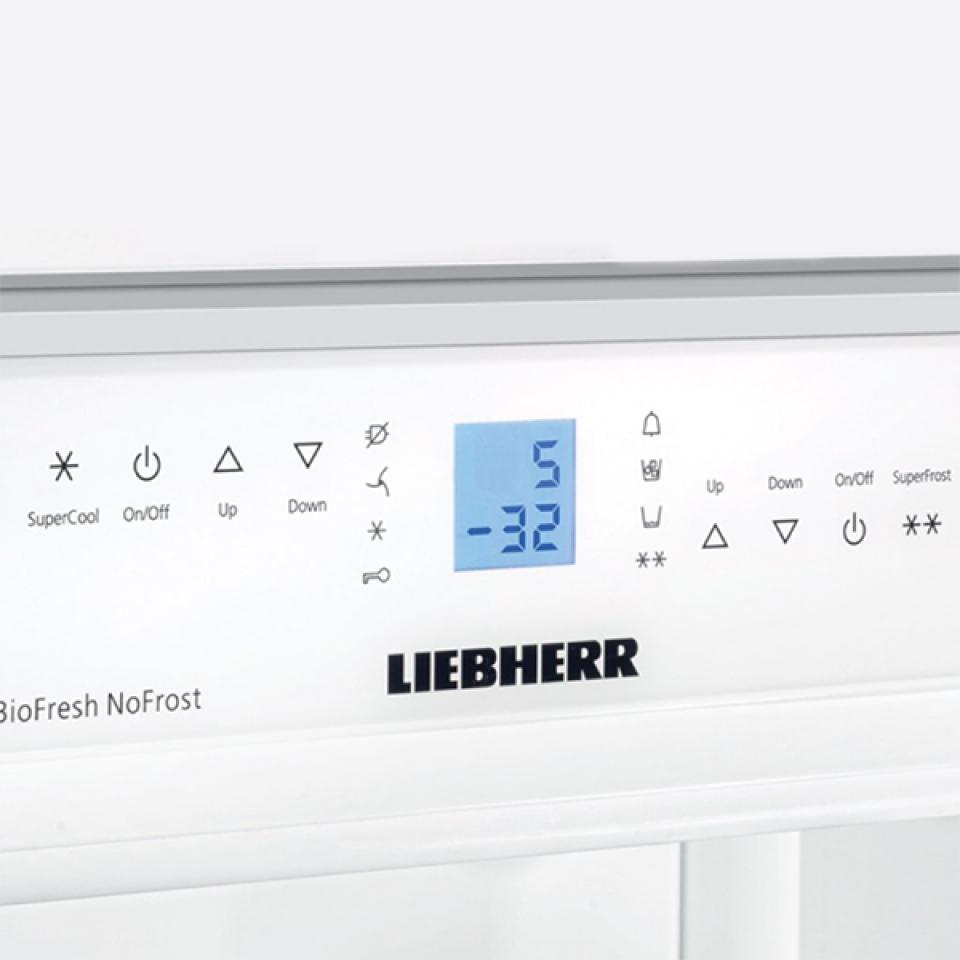 Refrigerador de Embutir Para Revestir em Inox SBS 40HS1