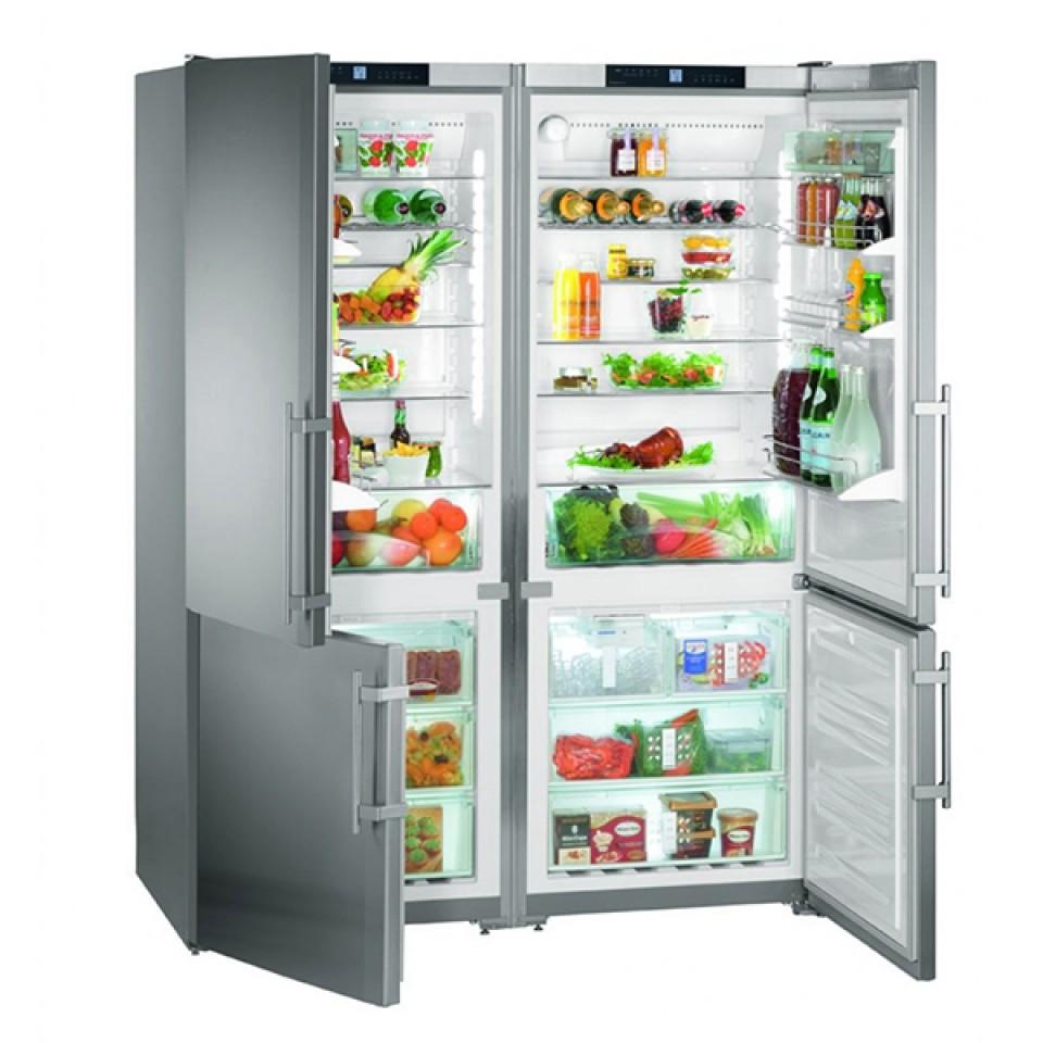 Refrigerador de Piso e Embutir SBS 32S1