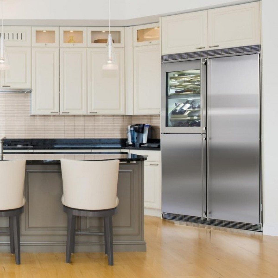 Refrigerador Modular de Embutir em Inox SBS 246