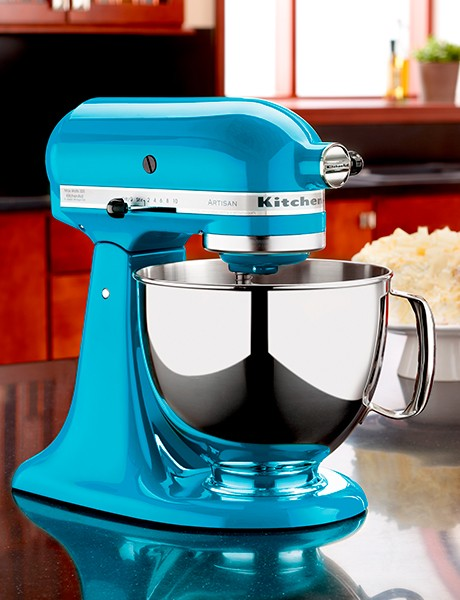 Batedeira Stand Mixer Artisan - Crystal Blue
