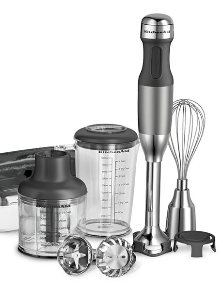 Mixer de Mão 5 Velocidades - Contour Silver - 127 V