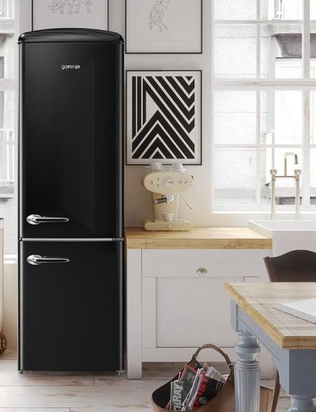 Refrigerador Bottom freezer Retro