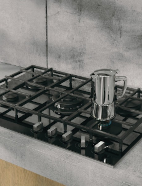 Cooktop Vitrocerâmico 5 queimadores a Gás by Starck