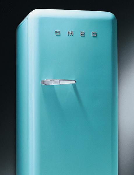 Refrigerador Anni '50 – Azul Céu
