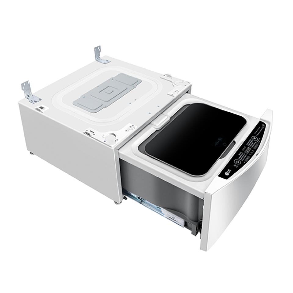 Lavadora LG TWINWash Mini Lunar 2Kg Branca