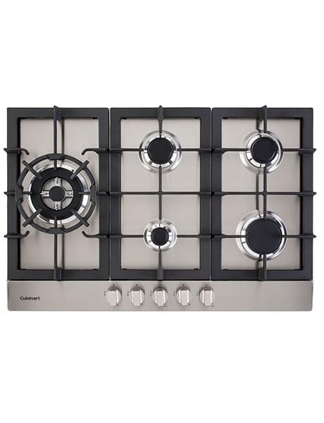 Cooktop 5 queimadores a gás Cuisinart Prime Cooking