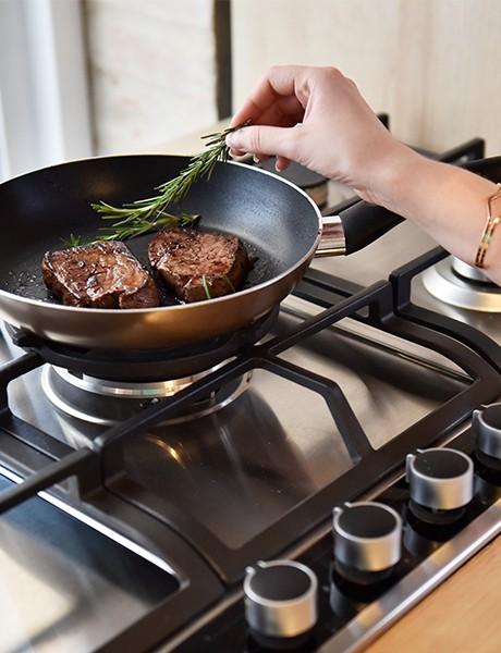 Cooktop a Gás 5 queimadores Cuisinart Casual Cooking 75cm