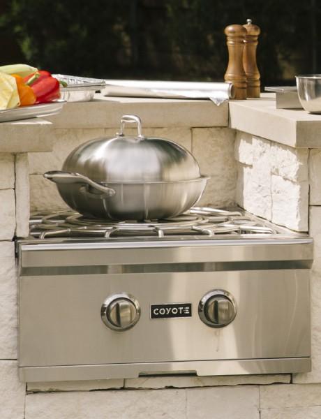 Queimador especial a gás de embutir - Power Burner