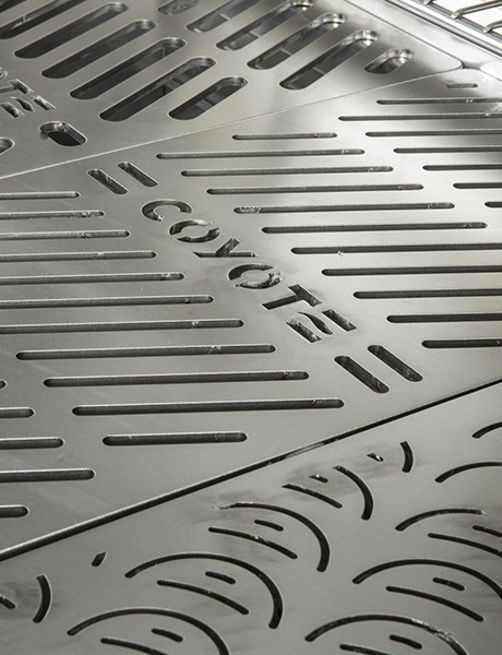 Grelhas exclusivas Coyote Signature Grates™