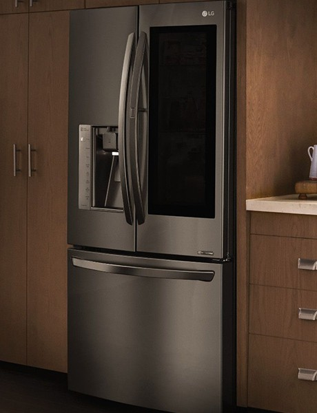 Refrigerador Smart French Door 525 litros com Instaview LG Black